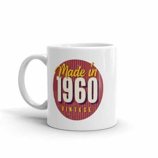 Vintage 1960 Mug by Treaja®