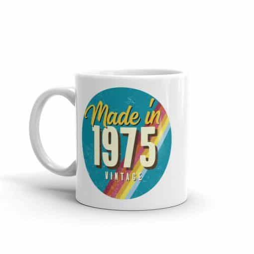 Made in 1975 Birthday Mug by Treaja®