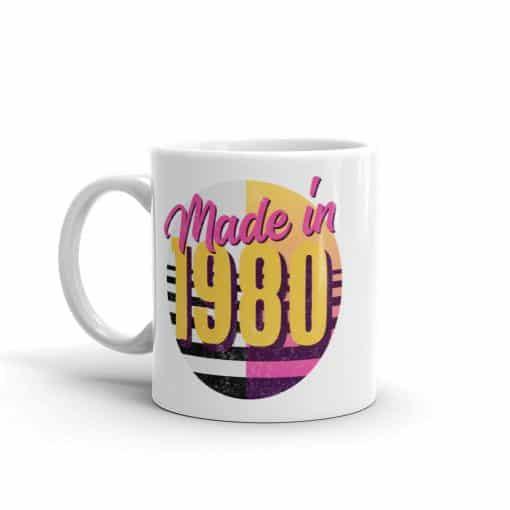 Made in 1980 Birthday Mug by Treaja®