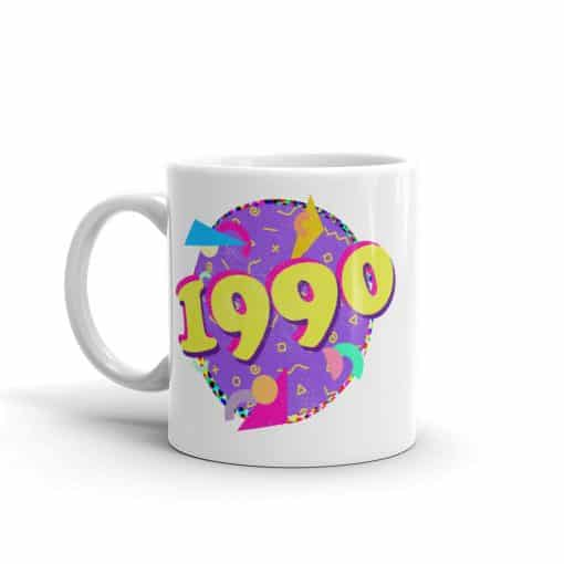 1990 Mug 90s Style Birthday Coffee Mug by Treaja®
