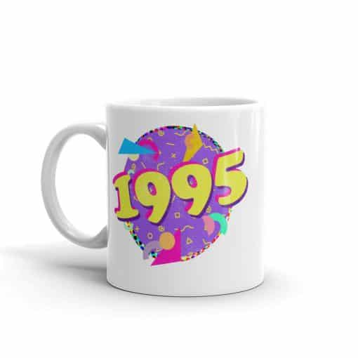 1995 Mug 90s Style Birthday Coffee Mug by Treaja®