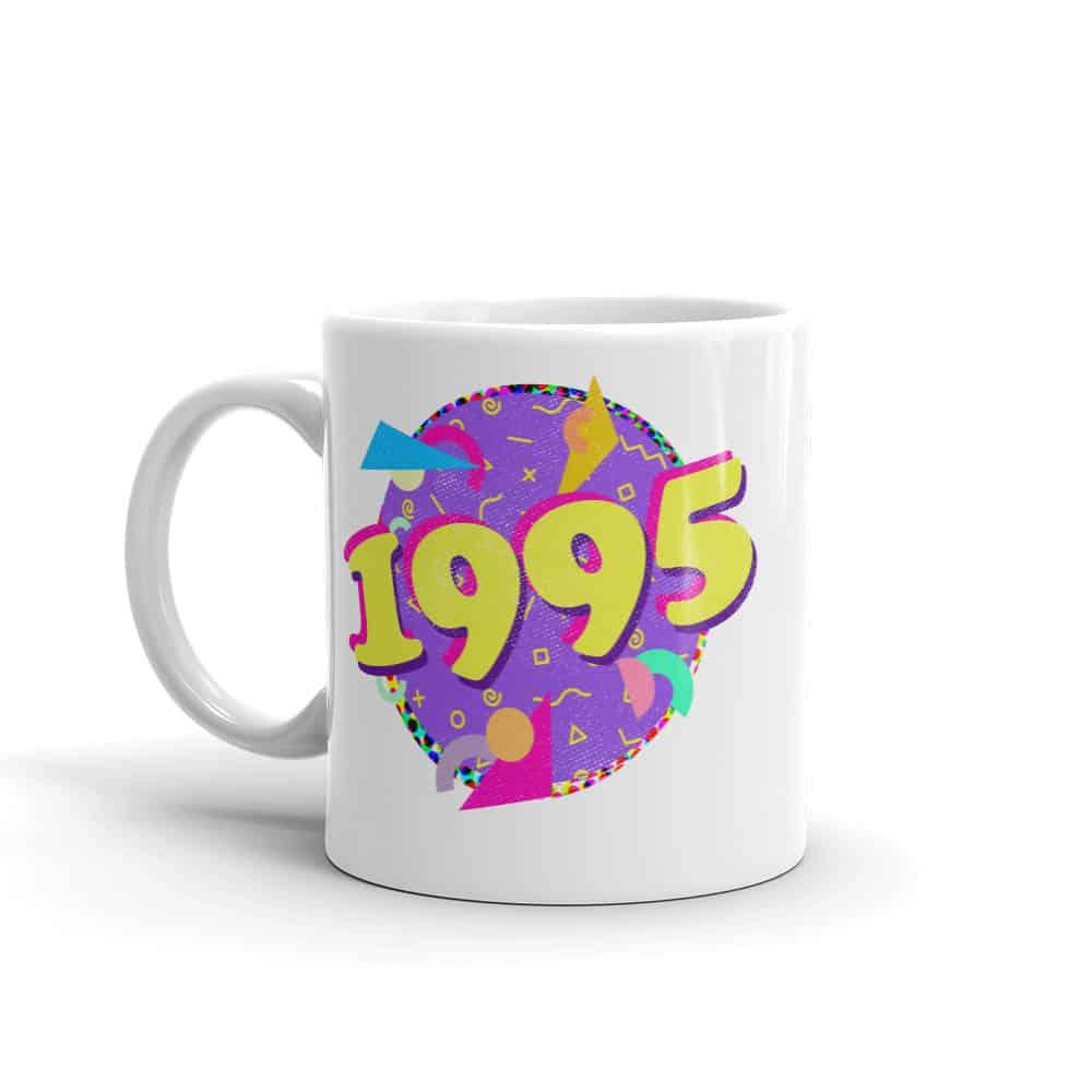1995 Mug 90s Style Birthday Coffee Mug by Treaja®