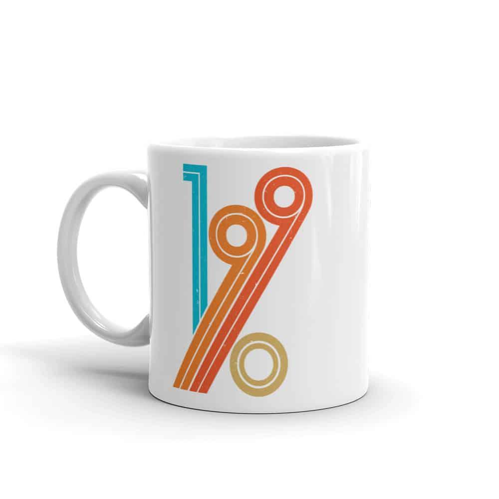1990 Mug Vintage Style Coffee Mug by Treaja®