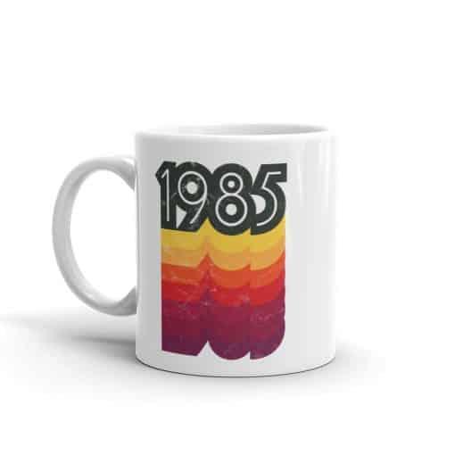1985 Mug 80s Style Birthday Coffee Mug by Treaja®