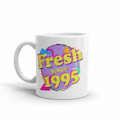 Fresh since 1995 90s Style Birthday Mug by Treaja®
