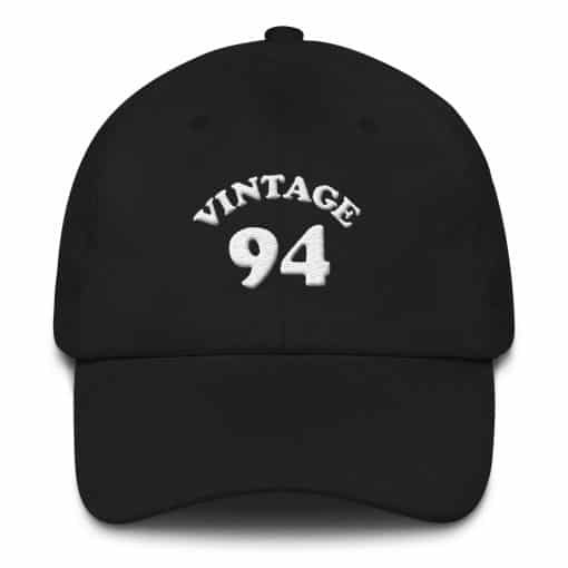 Vintage 1994 Birthday Cap by Treaja® | Retro 26th Birthday Low Profile Dad Hat
