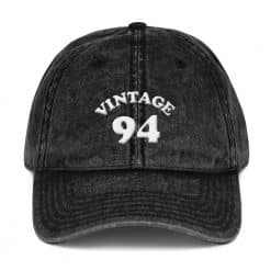 1994 Birthday Vintage Cap by Treaja® | Retro 26th Birthday Distressed Vintage Dad Hat