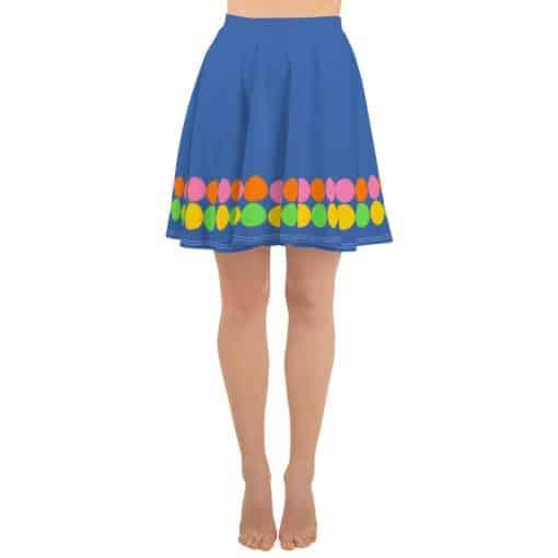 Neon Polka Dot 60s Style Skater Skirt by Treaja®