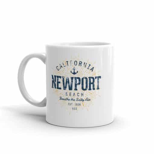 Newport Beach California Mug Vintage Style by Treaja®