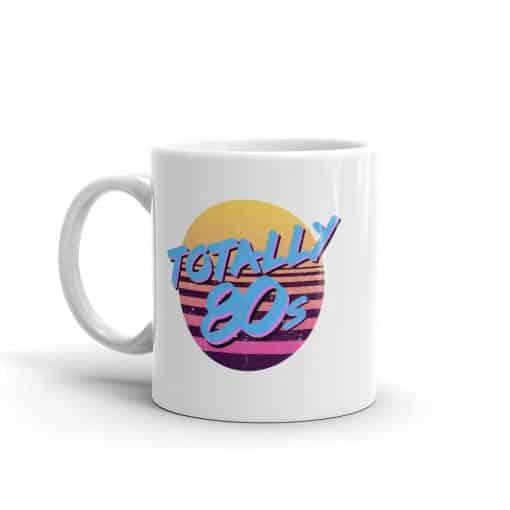 Totally 80s Mug Retro 80 Style Coffee mugs by Treaja®