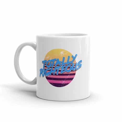 Totally Righteous 80s Style Mug by Treaja®