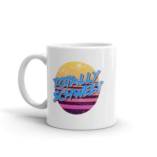 Totally Schweet 80s Style Mug by Treaja®