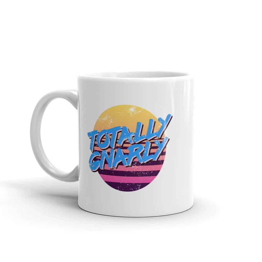 Totally Gnarly 80s Style Mug by Treaja®