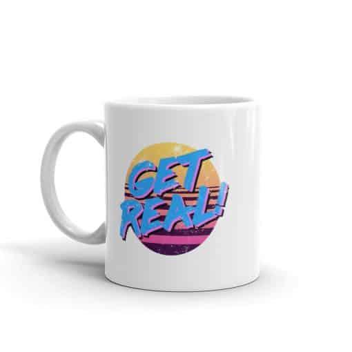 Get Real 80s Style Coffee Mug by Treaja®