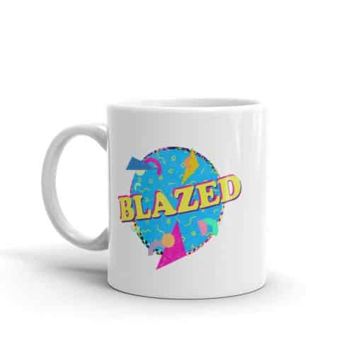 Blazed Mug Retro 90s Style by Treaja®