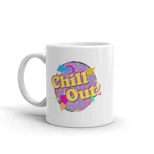 Chill Out Mug Retro 90s Style by Treaja®