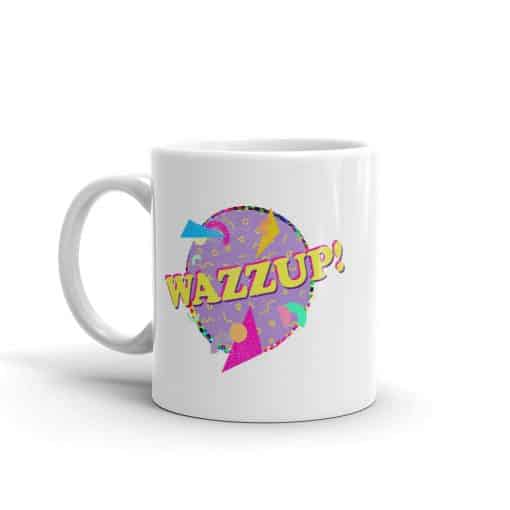 Wazzup Mug Retro 90s Style by Treaja®