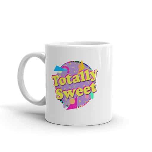 Totally Sweet Mug Retro 90s Style by Treaja®