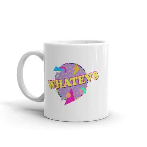 Whatevs Mug Retro 90s Style by Treaja®