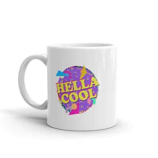 Hella Cool Mug Retro 90s Style by Treaja®