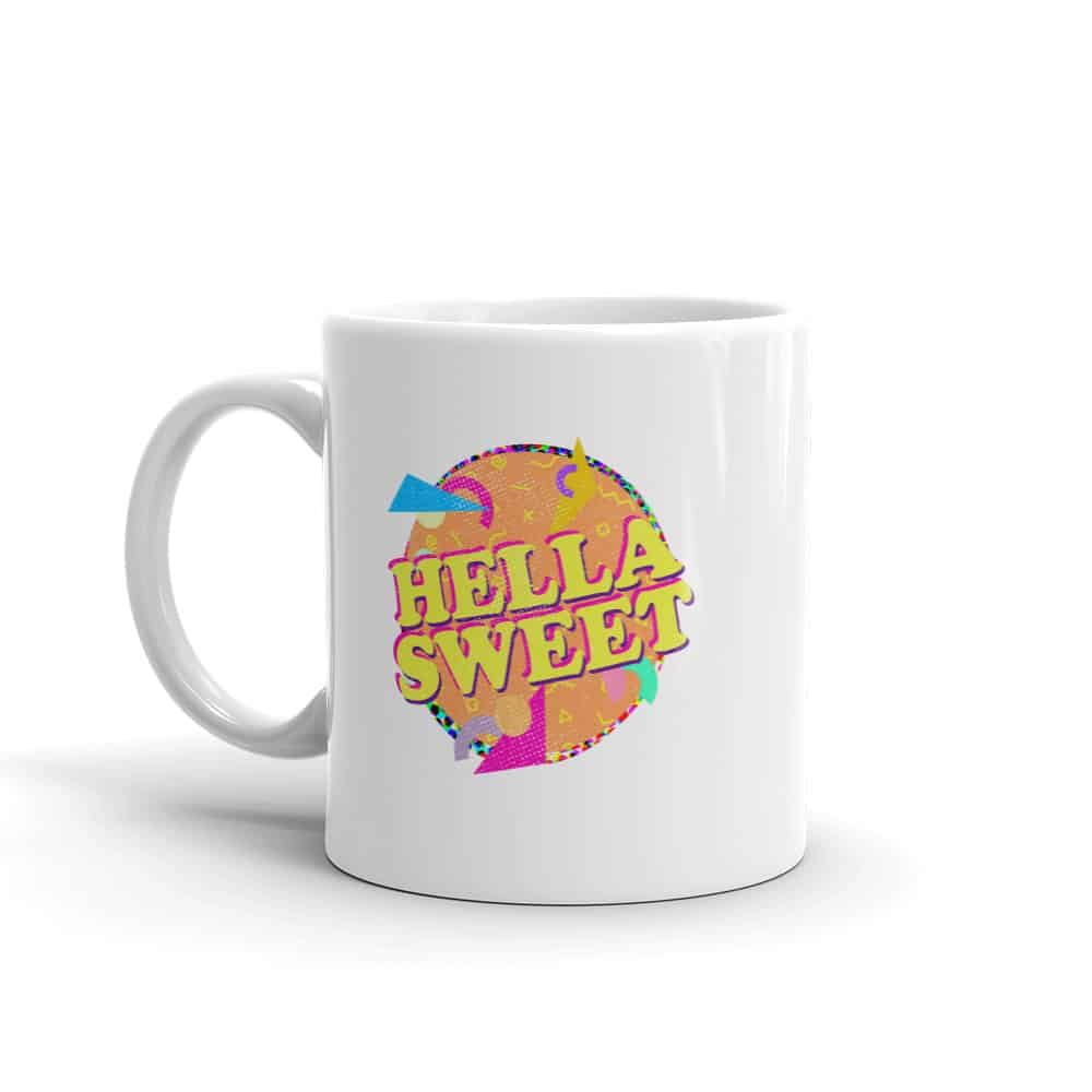 Hella Sweet Mug Retro 90s by Treaja®