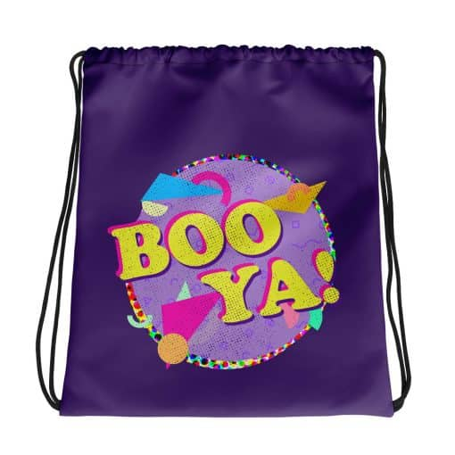 Boo-Ya Drawstring Bag Retro 90s Style by Treaja®
