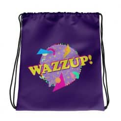 Wazzup Drawstring Bag Retro 90s Style by Treaja®