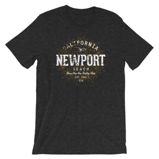 Newport Beach T-Shirt Unisex Vintage Style by Treaja®