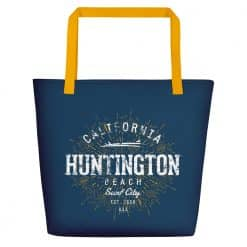 Huntington Beach Bag by Treaja® | Vintage Beach Tote Bag