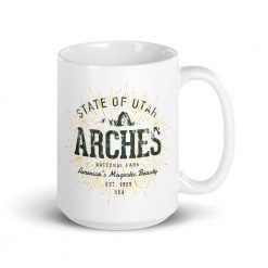 Arches National Park Mug by Treaja®