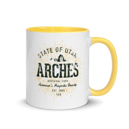 Arches National Park Mug by Treaja