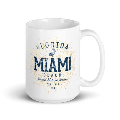Miami Beach Mug by Treaja®