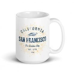 San Francisco Mug by Treaja®