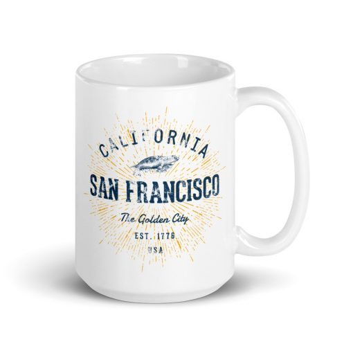 San Francisco Mug by Treaja®