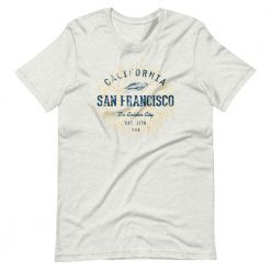 San Francisco T-Shirt by Treaja® | Unisex Vintage San Francisco Shirt