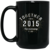 5th Anniversary Mug Treaja®