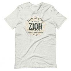 Zion National Park T-Shirt by Treaja® | Unisex Vintage Zion National Park Souvenir
