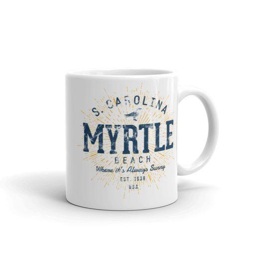 Myrtle Beach Mug by Treaja® | Vintage Myrtle Beach Souvenir