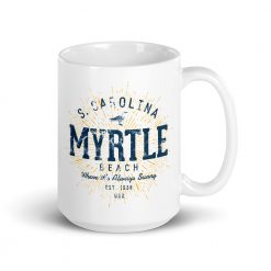 Myrtle Beach Mug by Treaja® | Vintage Myrtle Beach Souvenir