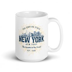New York Mug by Treaja® | Vintage New York Souvenir