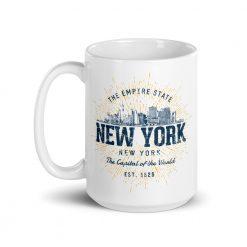 New York Mug by Treaja® | Vintage New York Souvenir