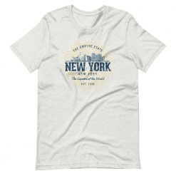 New York T-Shirt by Treaja® | Unisex Vintage New York Souvenir