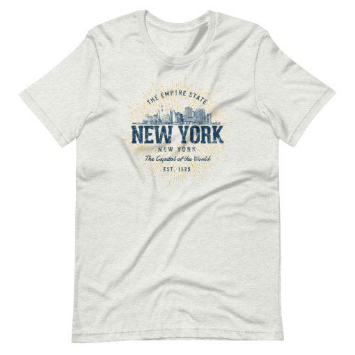 New York T-Shirt by Treaja® | Unisex Vintage New York Souvenir