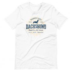 Dachshund T-Shirt by Treaja® | Unisex Vintage Dachshund Shirt