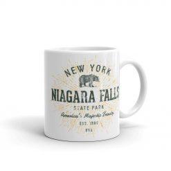 Vintage Retro Niagara Falls Mug